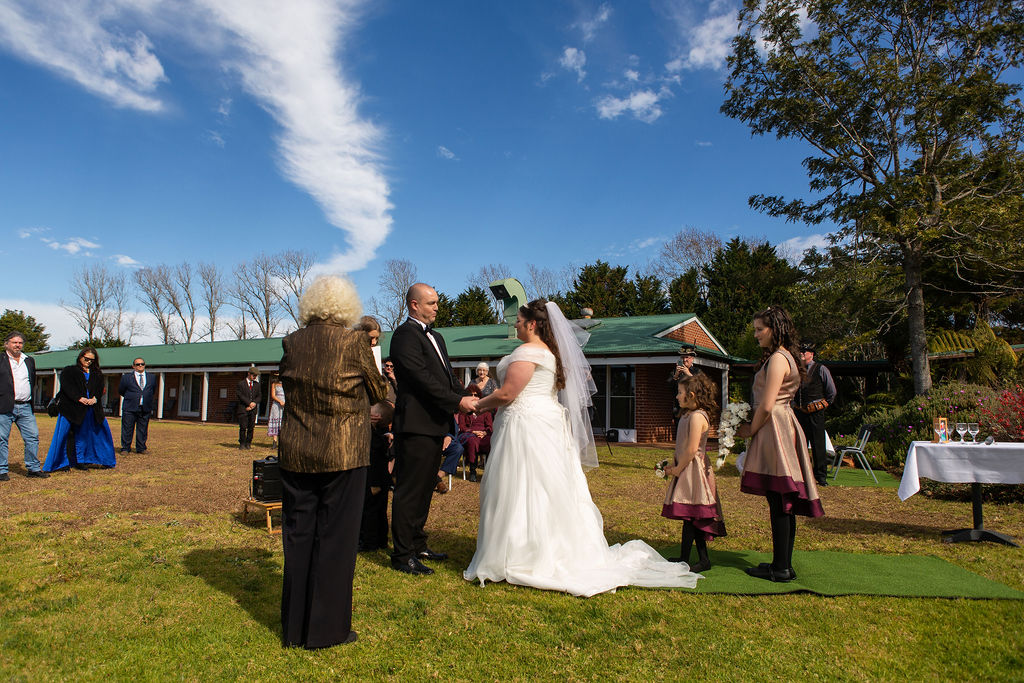 Getting married during Covid.